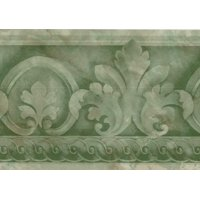 Product Image 879362 Architectural Wallpaper Border Green