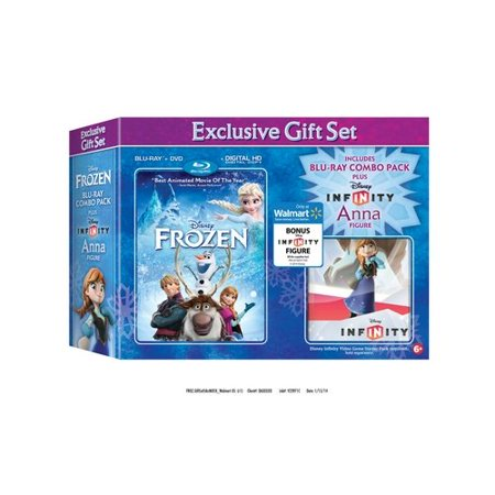 Frozen  Blu Ray   Dvd   Digital Hd   Infinity Anna   Walmart Exclusive   Widescreen