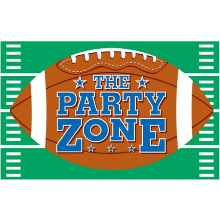 Football Giant Party Sign - Giant Football