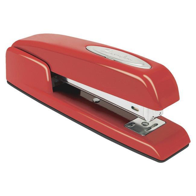 747 Full Strip Business Stapler, 35450 Staples, 20 Sheets, 210 Staple, Red