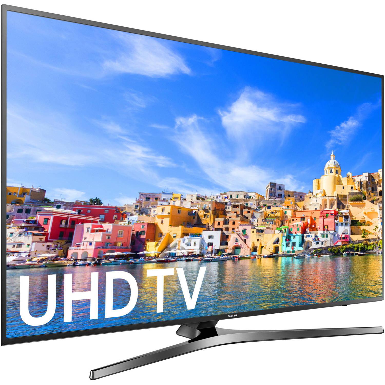 """Samsung 65"""" Class 4K (2160P) Smart LED TV (UN65KU7000) by Samsung"""
