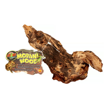 Reptile Mopani Wood (Zoo Med Natural Mopani Wood Aquarium Accessory,)