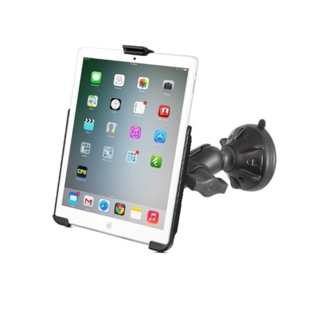 RAM Short Arm Suction Cup Windshield Car Suv Mount for Apple iPad mini 1 2 & 3 w/o Case, Skin or Sleeve