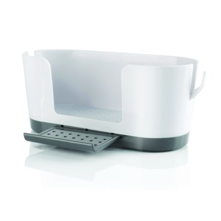 Handy Gourmet Sink Caddy with Ring Holders