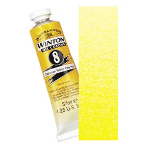 Winsor & Newton Artists' Oil Color: Medium Cadmium Yellow, 37mL