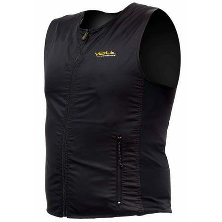 - Volt Men's Torso Heated Vest Liner-Black-S