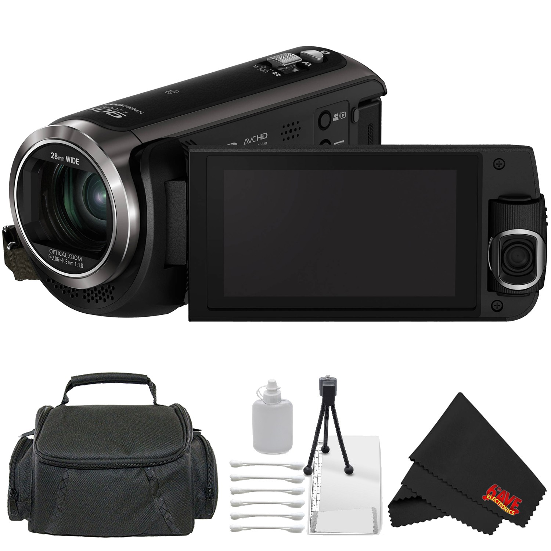 Panasonic LUMIX DMC-LX10 20.1MP Leica DC Optical Zoom Digital Camera Bundle with 32GB Memory Card + More (Intl Model)