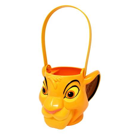 Disney Lion King Simba Figural Plastic Bucket