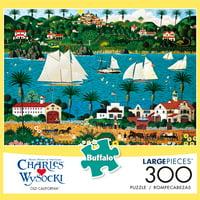 Buffalo Games - Charles Wysocki - Old California - 300 Piece Jigsaw Puzzle