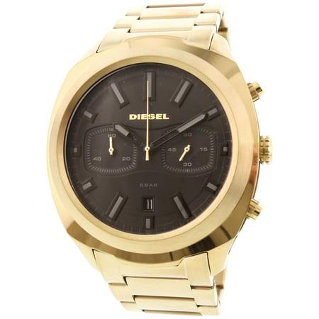 Diesel Men's Tumbler DZ4492 Gold Stainless-Steel Japanese Quartz Dress Watch