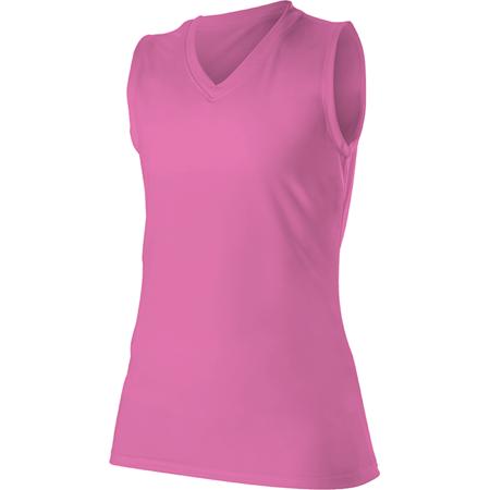 Sleeveless 2 Button Softball Jersey - Alleson Women's Sleeveless Softball Jersey