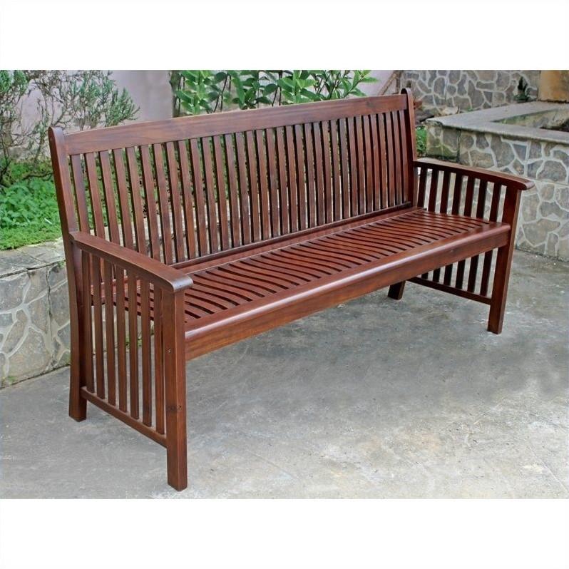 Pemberly Row 3-Seater Patio Garden Bench