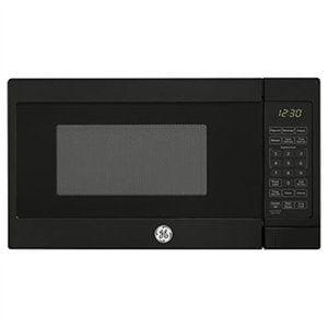 Ge Appliances JES1072DMBB Microwave Oven, 0.7-Cu. Ft. Capacity, Black, 700-Watt - Quantity (Best Prices On Ge Appliances)