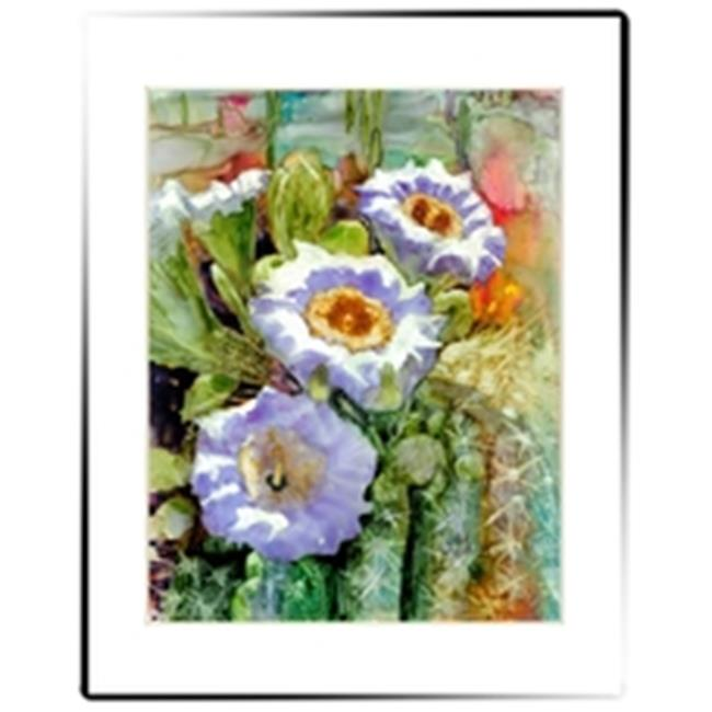 Rainbow Card Company MP202CF 11 x 14 in. Matted Print Cactus Flower