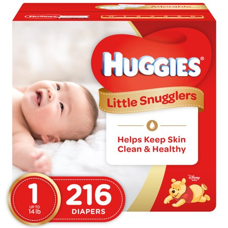 03376beed HUGGIES Little Snugglers Diapers (Choose Size and Count) - Walmart.com