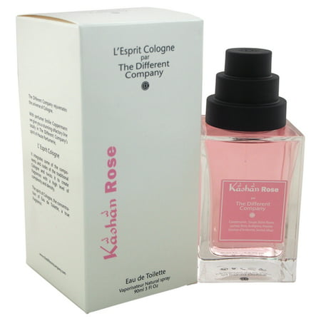 - Kashan Rose by The Different Company for Women - 3 oz EDT Spray