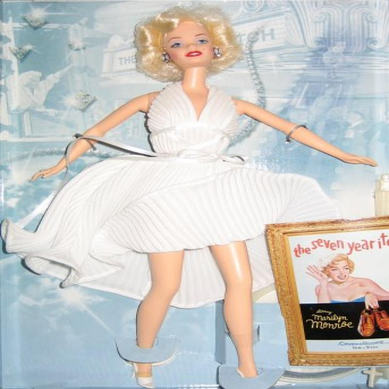 Mattel 1997 Barbie Collectibles - Barbie as Marilyn - The...