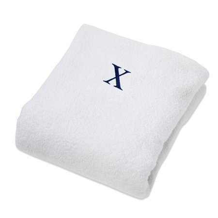 Impressions Monogrammed Cotton Lounge Chair Cover ()