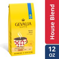 Gevalia House Blend Ground Coffee, Caffeinated, 12 oz Bag