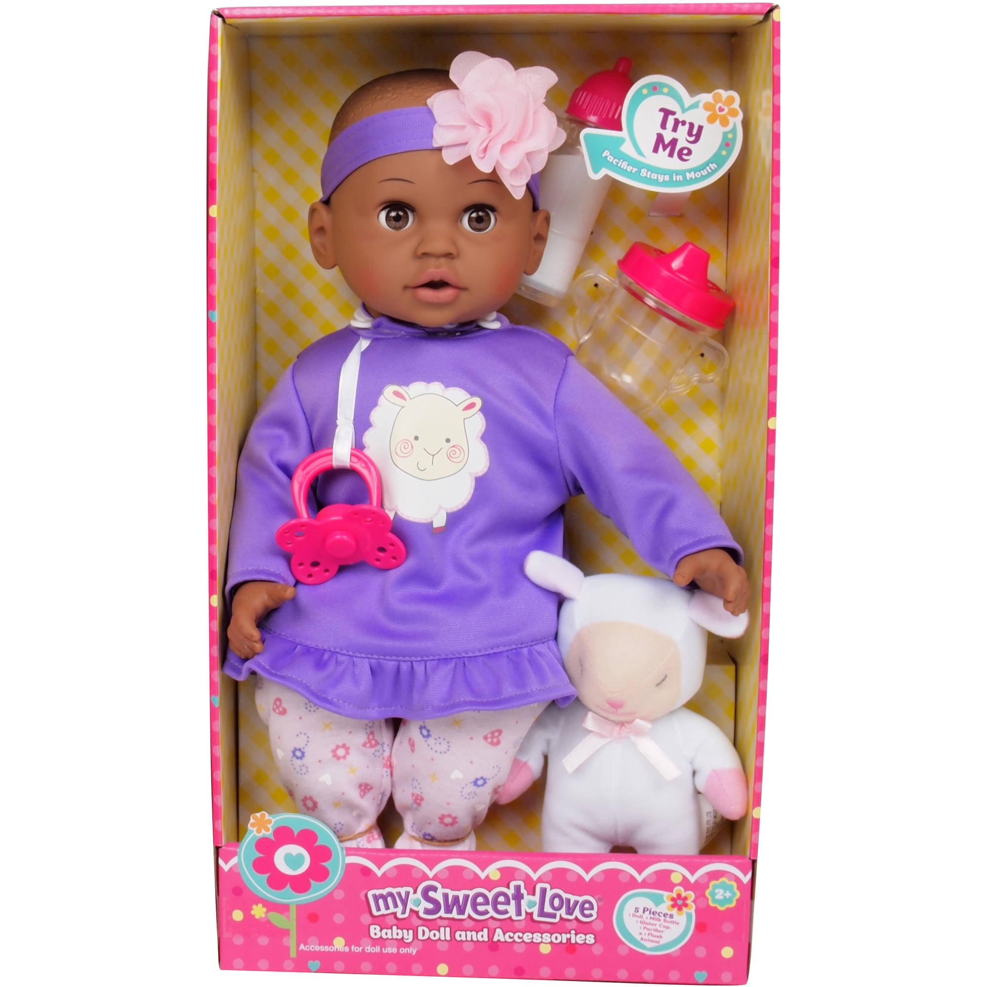 "MSL 14"" Baby Maggie Doll Owl African American Walmart"