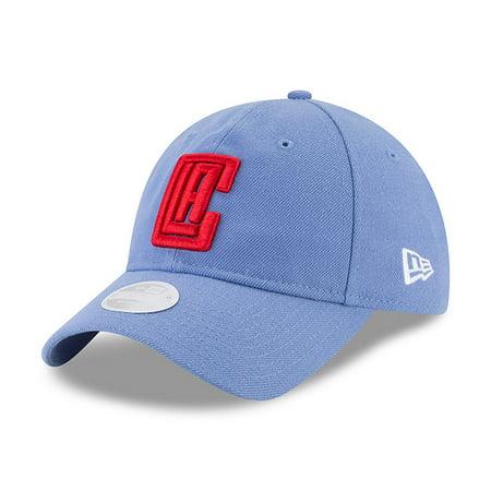 LA Clippers New Era Women's NBA City Series 9TWENTY Adjustable Hat - Light Blue - OSFA City Lights Series