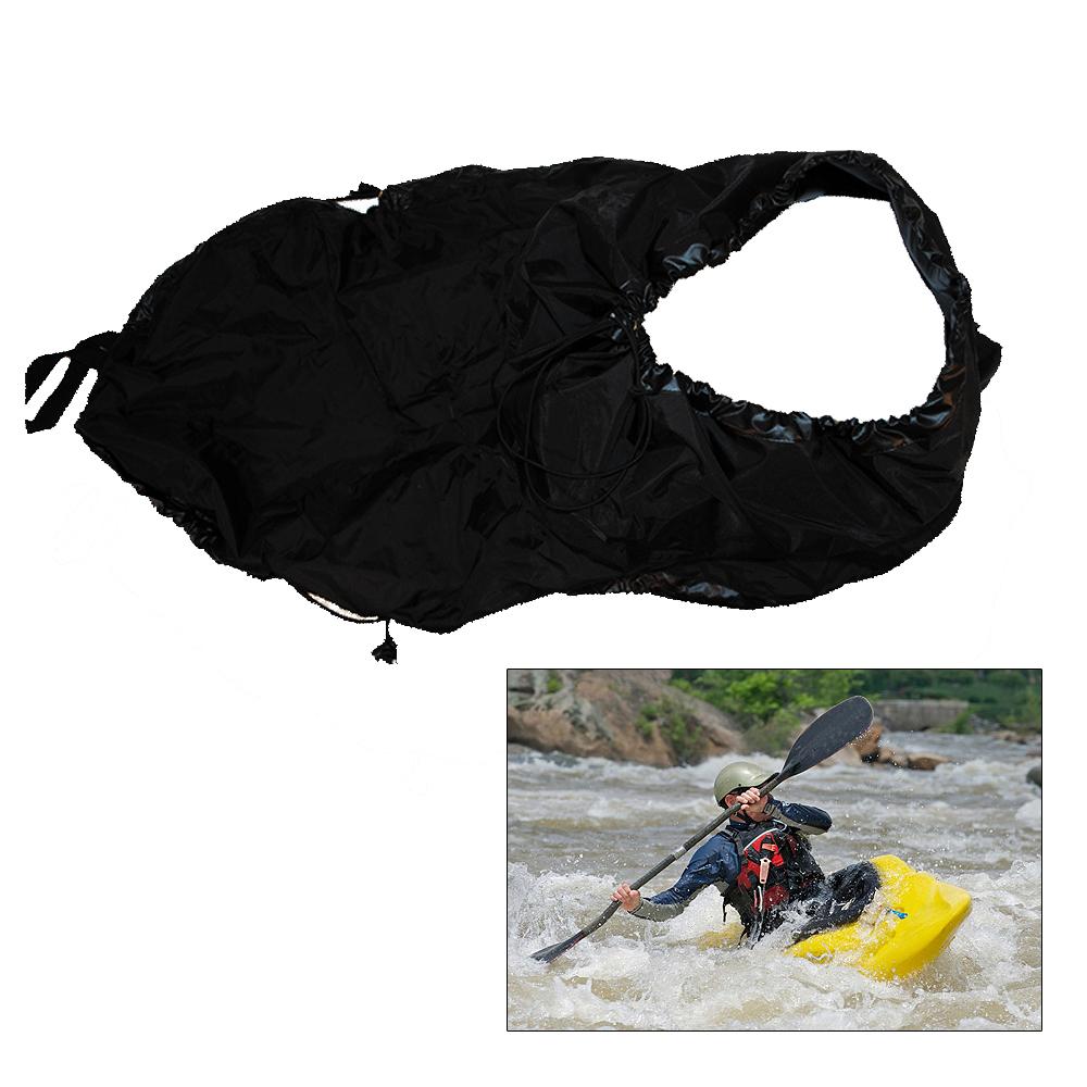 Attwood Kayak Spray Skirt, Black
