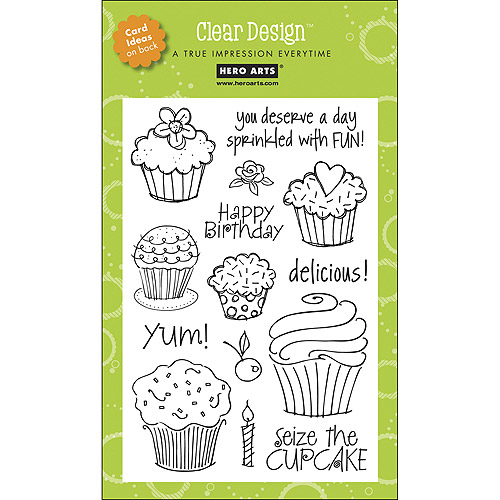 "Hero Arts Clear Stamps, 4"" x 6"" Sheet"