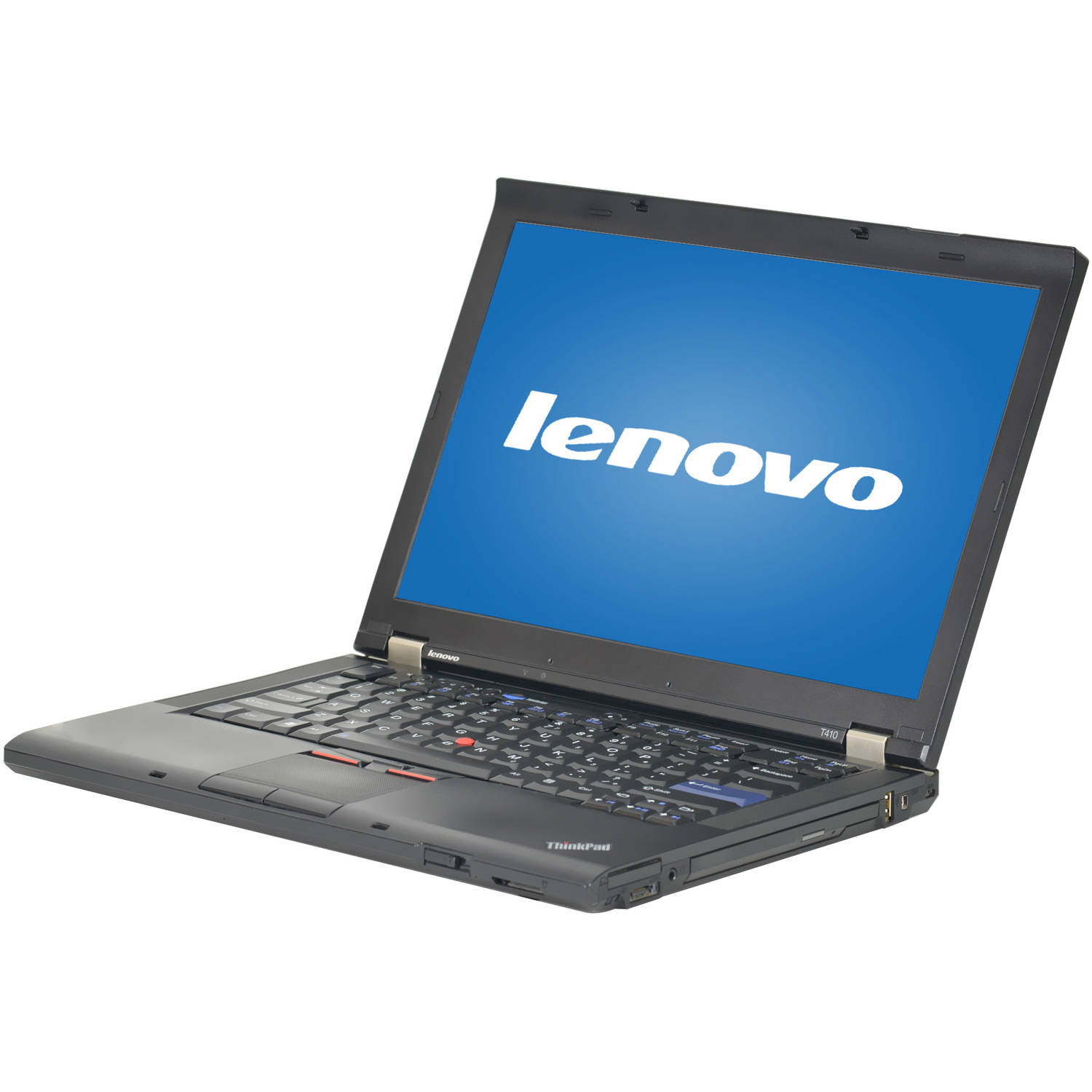 "Refurbished Lenovo Gray 14.1"" T410 Laptop PC with Intel Core i5-520M Processor, 4GB Memory, 320GB Hard Drive and Windows 10 Pro"