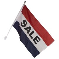 "Aluminum 3x5-Foot Flag Pole Kit, with ""Sale"" Flag for Stores, Hardware Included (FLGPOLESAL)"