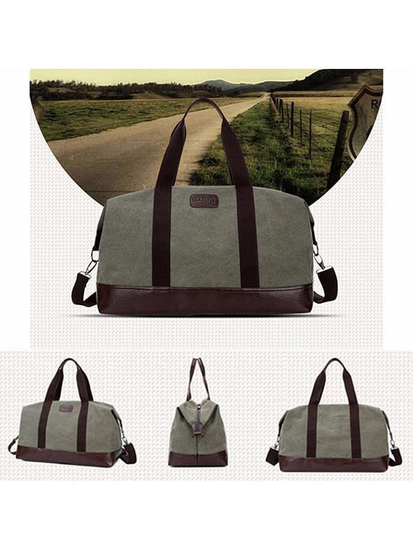 Meigar Weekender Bag From Journey Collection Vintage Men Canvas Large Handbag Gym
