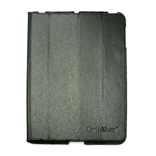 CellAllure Vertical Protective Pouch for Apple iPad 2 - Black