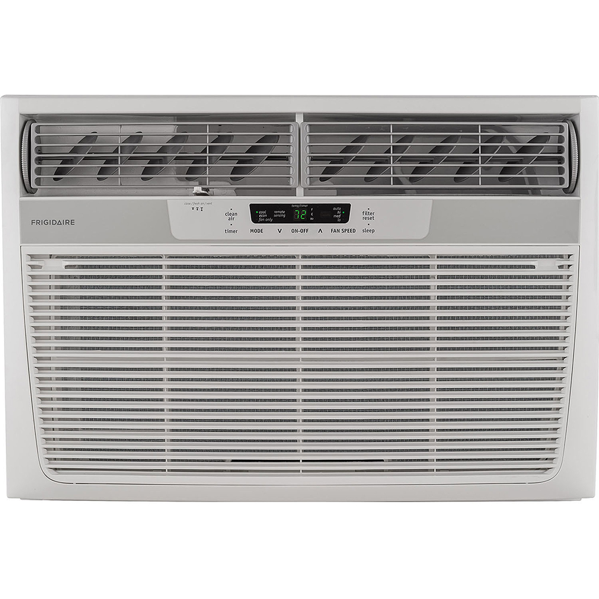 Frigidaire FFRA2822R2 28,000-BTU 230V Window Mounted Heavy-Duty Air Conditioner with Temperature-Sensing Remote Control