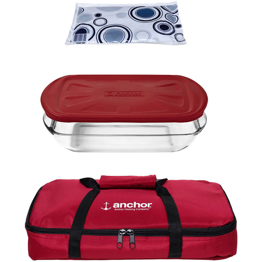 4-Piece Essentials Tote Set with Embrace Lid