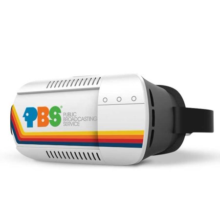 PBS Retro Space-Themed Virtual Reality Headset for Android and iPhone + PBS Lunar Base VR