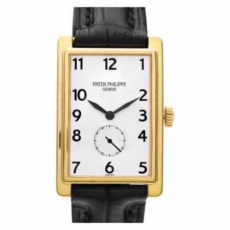 Pre-Owned Patek Philippe Gondolo 5009J Gold Watch (Certified Authentic & Warranty)