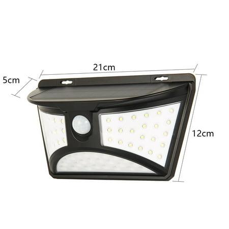 68LED Outdoor Solar Motion Sensor Wall Light Garden Waterproof Yard Security Lamp