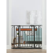 Regalo Home Accents Extra Wide Walk Thru Baby Gate, Includes Dcor Hardwood, 4-Inch Extension Kit, 4-Inch Extension Kit, 4 Pack of Pressure Mount Kit and 4 Pack of Wall Cups and Mounting Kit