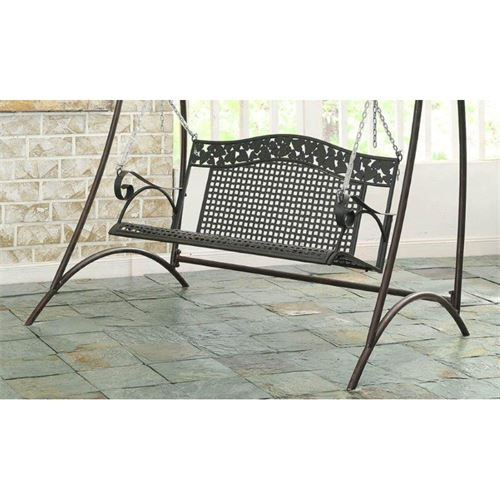 4D Concepts Ivy League 47.5 in. Metal Porch Swing by 4D Concepts