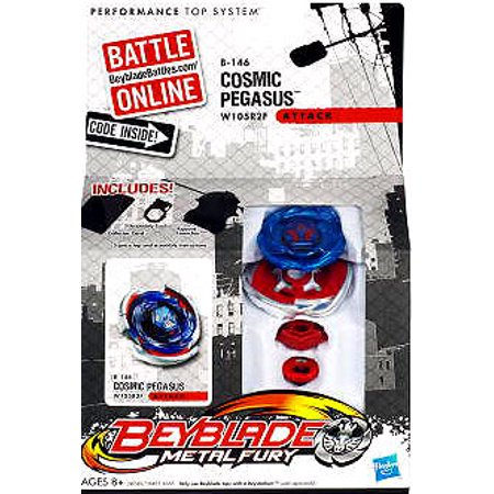 Beyblade Metal Fury Cosmic Pegasus Single Pack