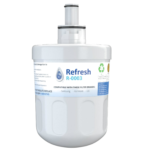 by Refresh Replacement For Samsung RFG298AARS Refrigerator Water Filter