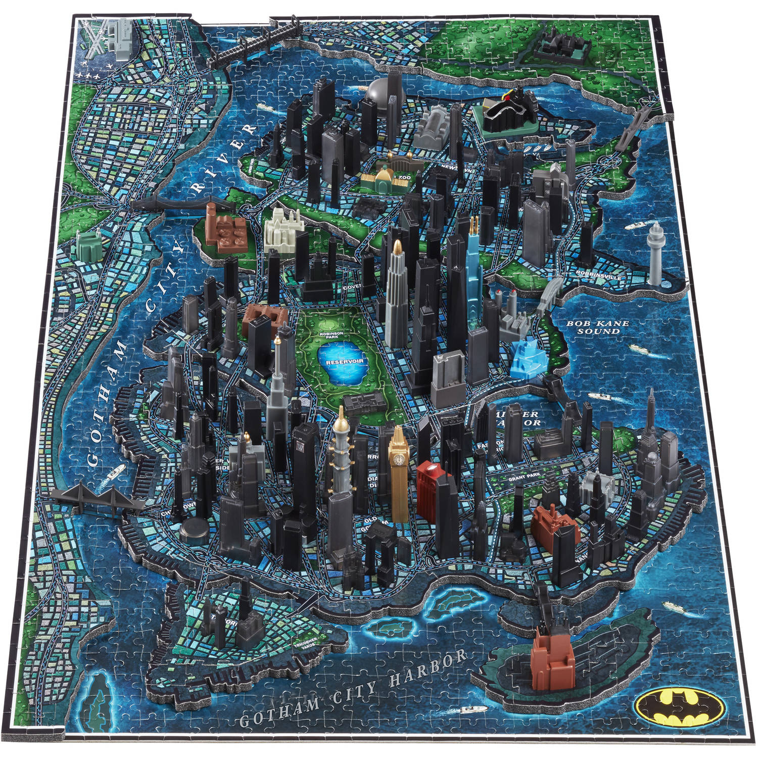 Image of 4D Batman Gotham City Puzzle
