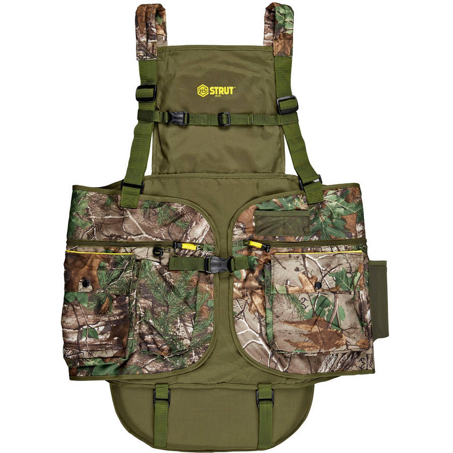 Hunter Specialties Turkey Vest, Xtra Green by Hunter Specialties