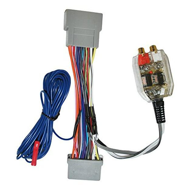 Factory Radio Add A Amp Amplifier Sub Interface Wire Harness Inline  Converter - Walmart.com - Walmart.comWalmart.com