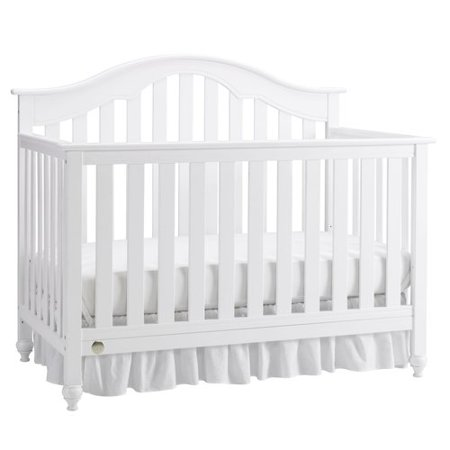 Fisher-Price Kingsport 4-in-1 Convertible Crib Snow White - Walmart.com