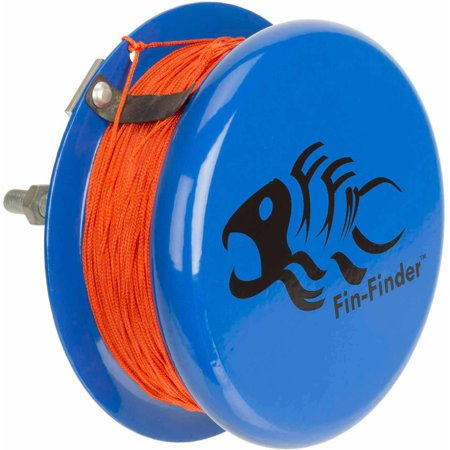 Fin-Finder 10287 Heavy Duty Drum Reel with 80