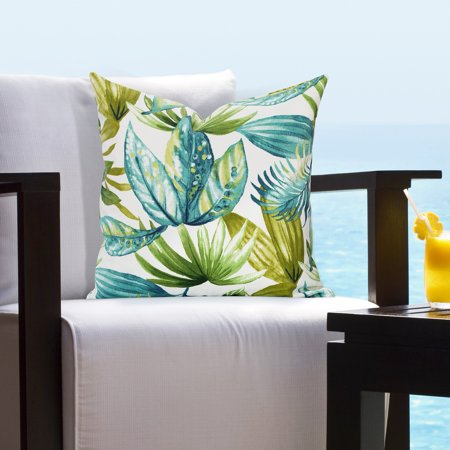 SIScovers  Indoor - Outdoor Maui Tropical Throw Pillow ()