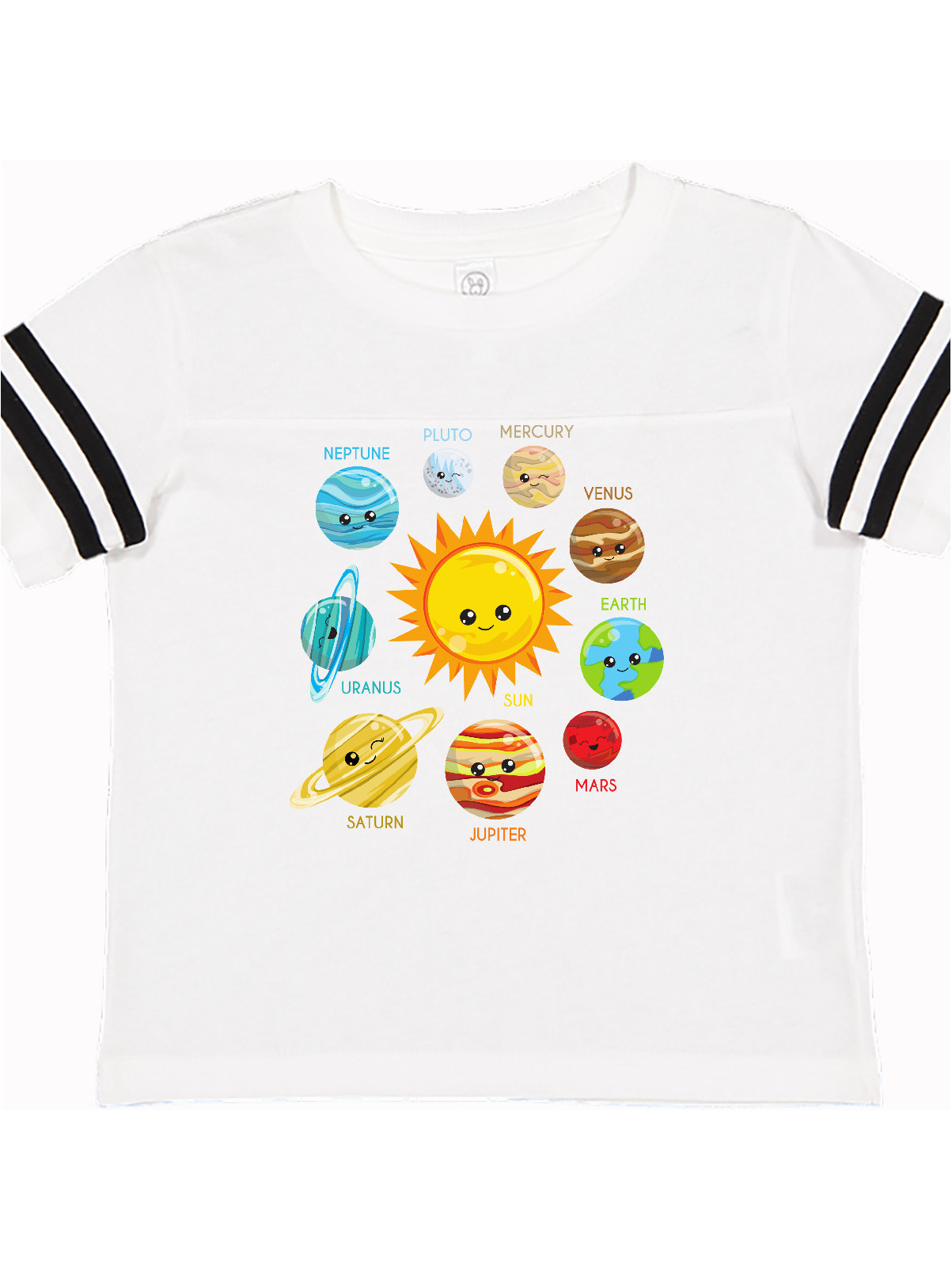 12 Months - 2T Summer Planets Around The Sun Infant//Toddler Summer Tank Top