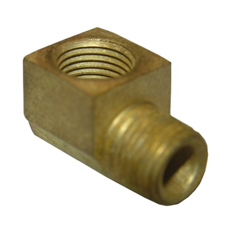 17-9073 1/4-Inch Female Pipe Thread by 1/4-Inch Male Pipe Thread Brass 90-Degree Street Ell/Elbow, 90 degree street elbow By LASCO