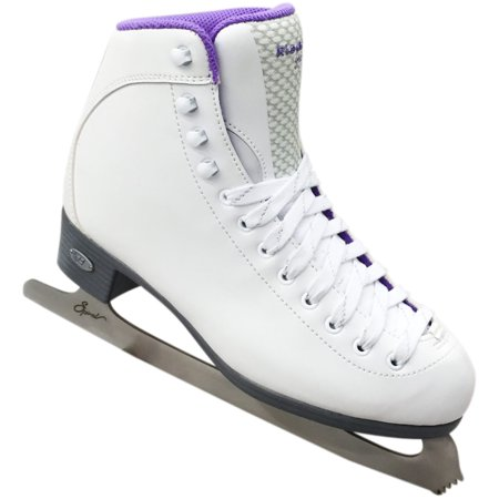 Riedell 18 Sparkle Figure Skates With Spiral