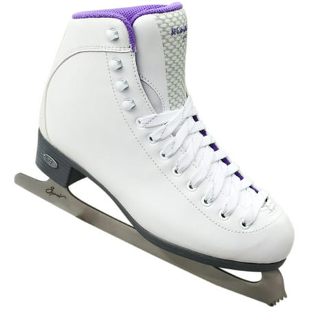 Riedell 18 Sparkle Figure Skates With Spiral -